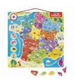 PUZZLE FRANCE MAGNETIQUE - JANOD