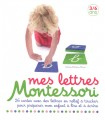 LETTRES RUGUEUSES - COFFRET MONTESSORI - NATHAN